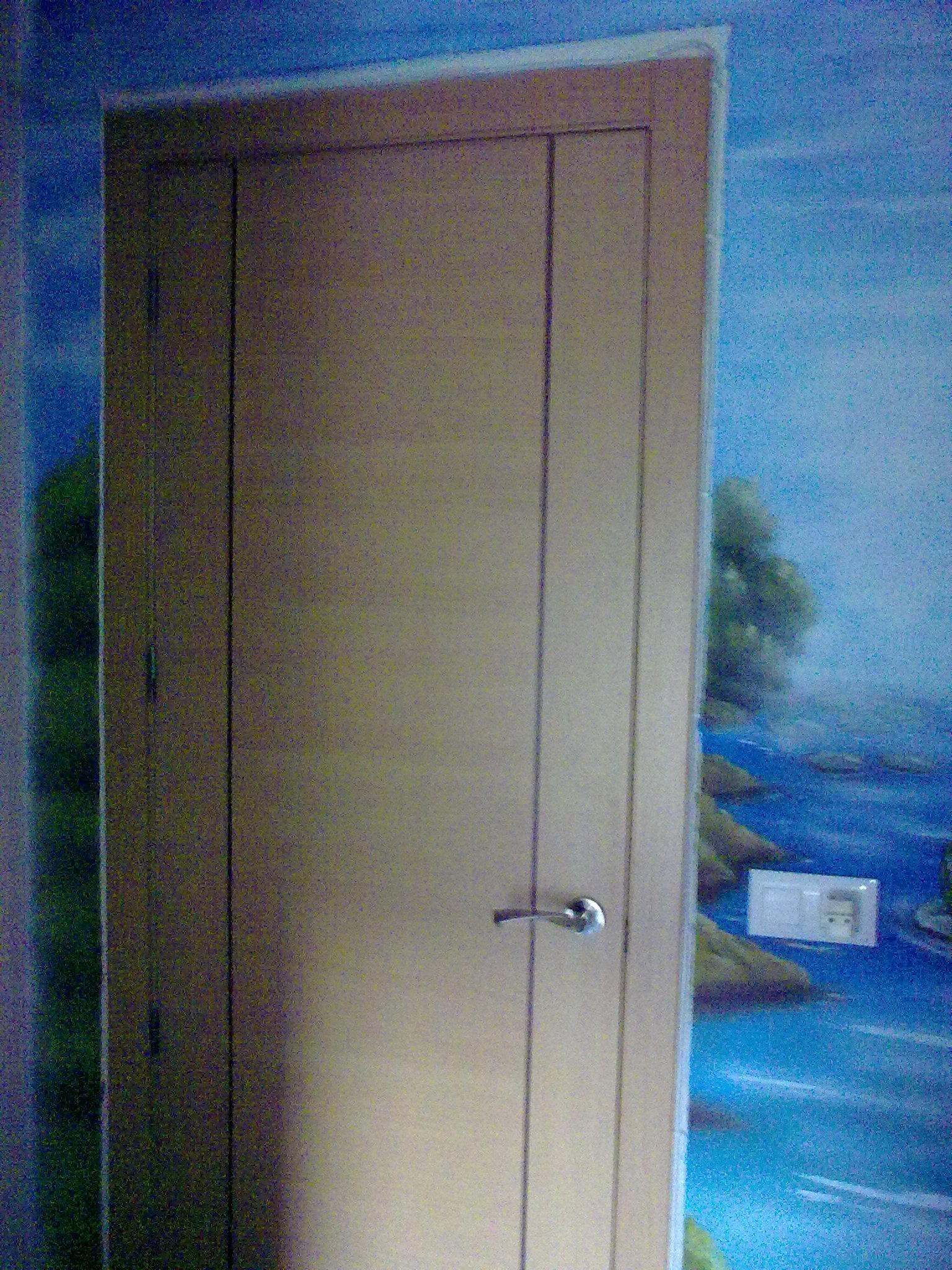 Puerta lisa de haya g2n puertas alberto cano for Puertas lisas baratas