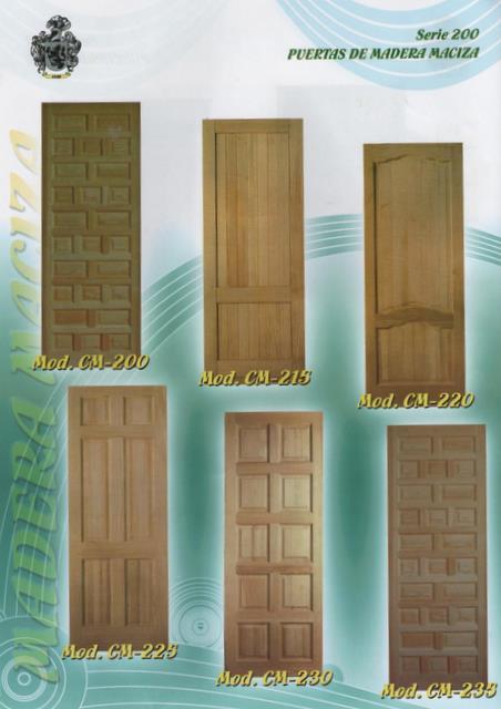 Cat logo de puertas puertas alberto cano - Puertas de madera economicas ...
