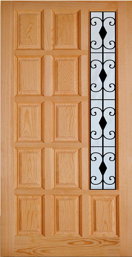 Puertas de calle clasicas puertas alberto cano - Tableros de madera para exterior ...