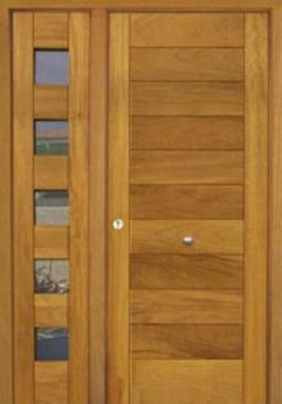 Puertas de calle modernas puertas alberto cano for Puertas de madera modernas para exterior