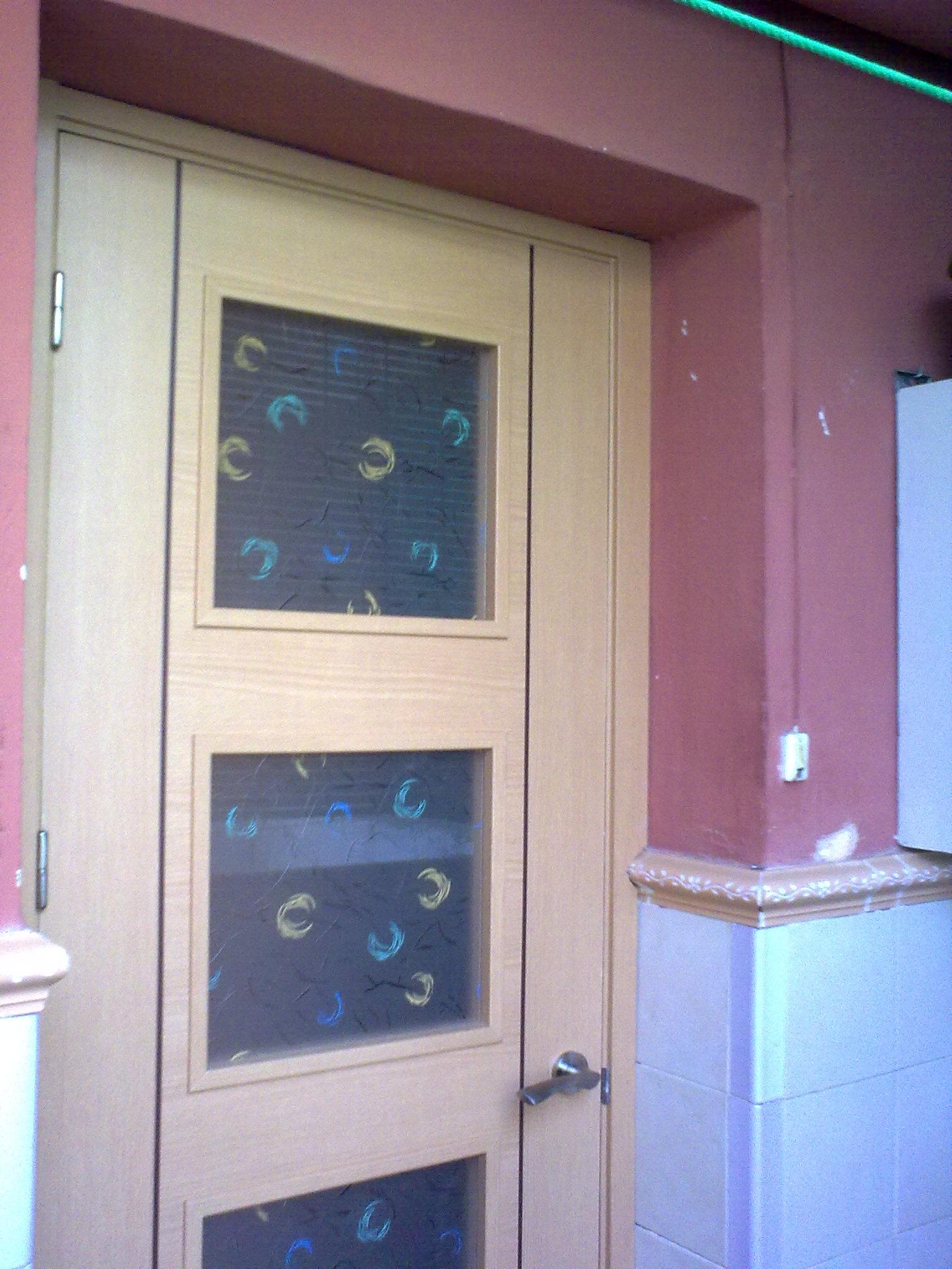 Puerta de haya melamina g2n puertas alberto cano for Puertas de melamina