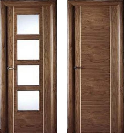Puertas de interior clasicas puertas de calle modernas - Puertas de calle de madera ...