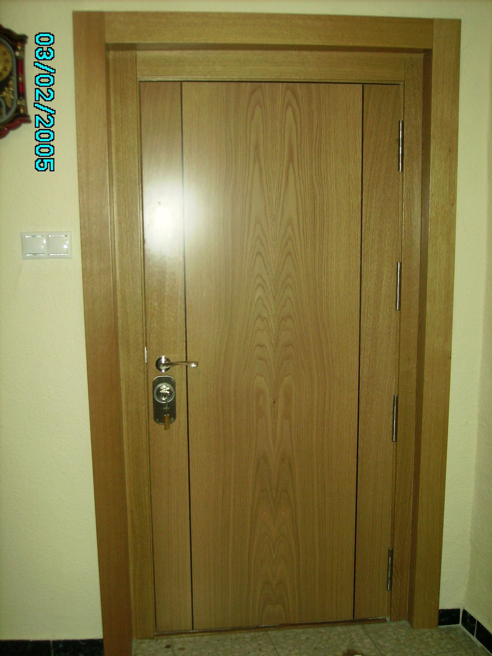 Trabajos realizados for Puertas de madera interiores baratas