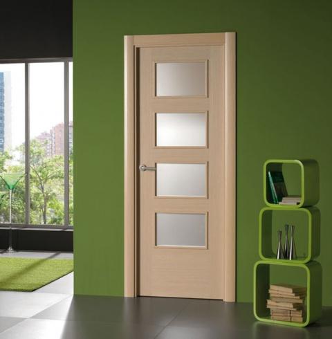 Catalogo proma puertas alberto cano for Puertas de madera interiores modernas