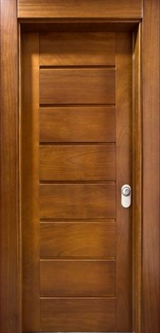 Puertas de calle modernas puertas alberto cano for Precio puerta madera maciza
