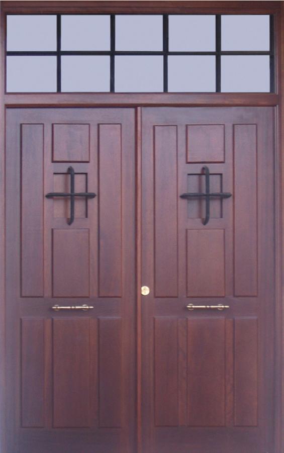 Puertas de interior clasicas armarios de madera puertas for Puertas para calle modernas