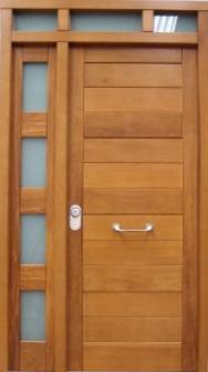 Puertas de calle modernas puertas alberto cano pagina 3 for Como hacer una puerta de madera para exterior