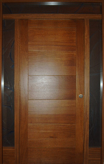 Puertas de calle modernas puertas alberto cano for Puertas de madera maciza exterior