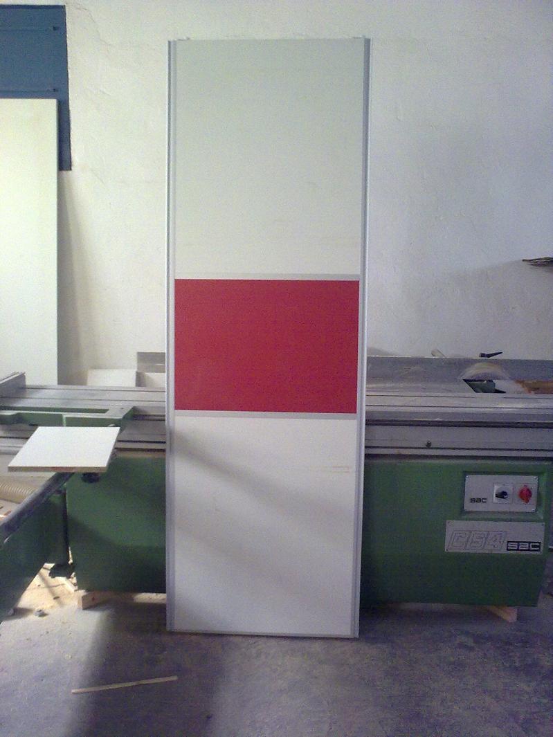 Adesivo De Recorte Curitiba ~ armario corredero blanco rojo japones Puertas Alberto Cano