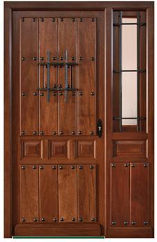 Puertas de calle rusticas puertas alberto cano for Puertas de ingreso de madera