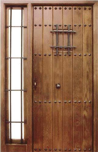 Puertas de calle rusticas puertas alberto cano pagina 3 for Puerta madera rustica