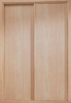 Frente de armario liso de roble melamina 2 hojas - Frentes de armarios de cocina ...