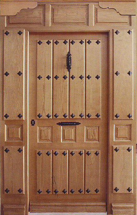 Puertas de calle rusticas puertas alberto cano for Puertas de madera exterior baratas