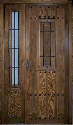 Puertas de calle rusticas puertas alberto cano for Puertas principales de madera rusticas