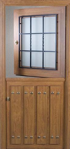 Puerta de calle rustica partida v1 puertas alberto cano for Puertas de madera maciza exterior