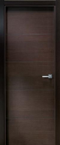 Puerta de wengue modelo lh 4r puertas alberto cano for Modelos de puertas de interior modernas